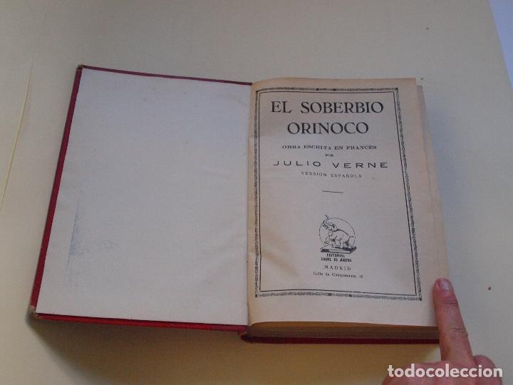 Cómics: DOS TOMOS ENCUADERNADOS CON 12 NOVELAS PULP DE JULIO VERNE DE LA EDITORIAL SÁENZ DE JUBERA - c. 1940 - Foto 39 - 147142546