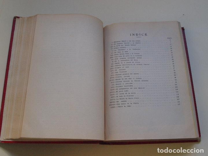 Cómics: DOS TOMOS ENCUADERNADOS CON 12 NOVELAS PULP DE JULIO VERNE DE LA EDITORIAL SÁENZ DE JUBERA - c. 1940 - Foto 41 - 147142546