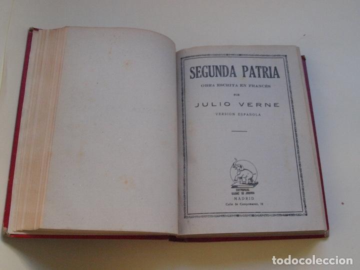 Cómics: DOS TOMOS ENCUADERNADOS CON 12 NOVELAS PULP DE JULIO VERNE DE LA EDITORIAL SÁENZ DE JUBERA - c. 1940 - Foto 43 - 147142546