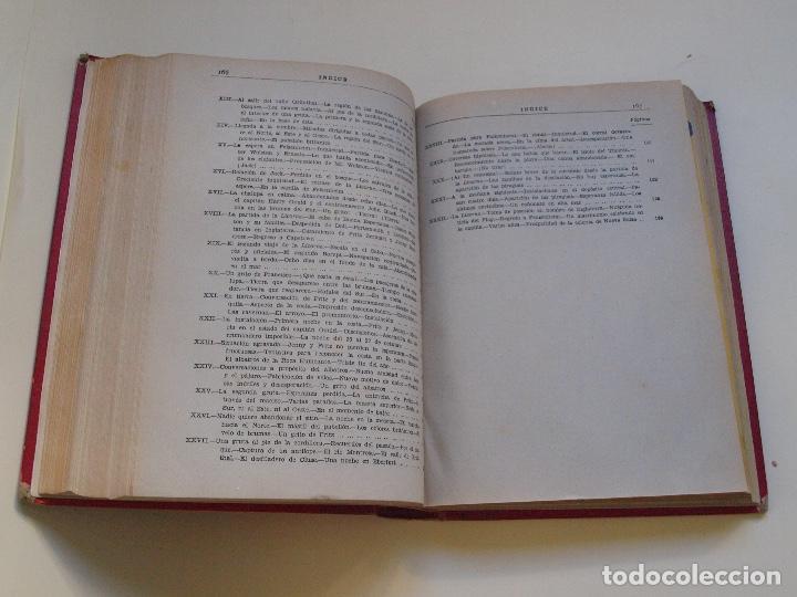 Cómics: DOS TOMOS ENCUADERNADOS CON 12 NOVELAS PULP DE JULIO VERNE DE LA EDITORIAL SÁENZ DE JUBERA - c. 1940 - Foto 47 - 147142546