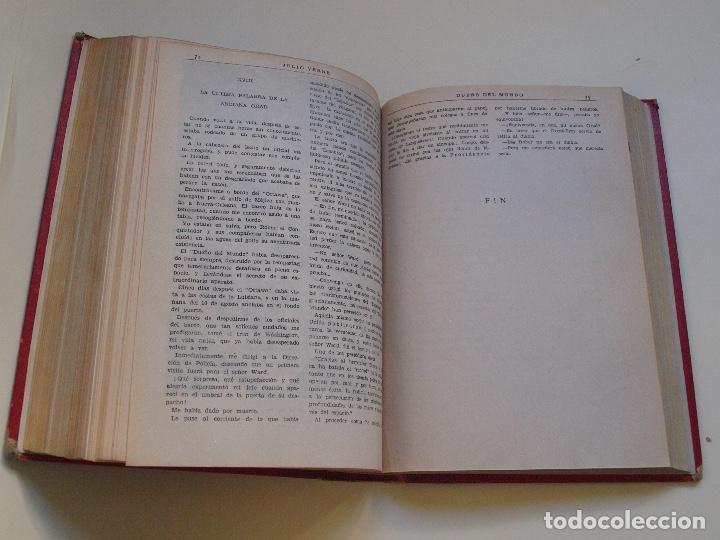 Cómics: DOS TOMOS ENCUADERNADOS CON 12 NOVELAS PULP DE JULIO VERNE DE LA EDITORIAL SÁENZ DE JUBERA - c. 1940 - Foto 51 - 147142546