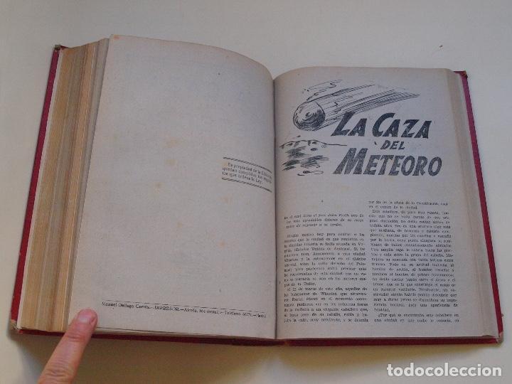 Cómics: DOS TOMOS ENCUADERNADOS CON 12 NOVELAS PULP DE JULIO VERNE DE LA EDITORIAL SÁENZ DE JUBERA - c. 1940 - Foto 59 - 147142546