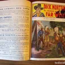 Cómics: DICK NORTON, EL HÉROE DEL FAR WEST - LOTE 76 EJEMPLARES AÑOS 30. Lote 147284042