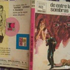 Cómics: DE ENTRE LAS SOMBRAS - CURTIS GARLAND - SERVICIO SECRETO NÚMERO 1074. Lote 147615018