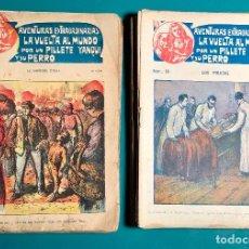 Cómics: FOLLETINES LA VUELTA AL MUNDO POR UN PILLETE YANQUI Y SU PERRO 1 AL 35 AÑOS 20´S EDICIONES MARCO. Lote 147714934