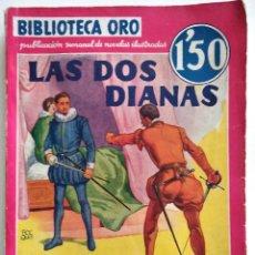 Cómics: LAS DOS DIANAS - ALEJANDRO DUMAS - BIBLIOTECA ORO Nº 18 - AÑO 1935. Lote 148347590