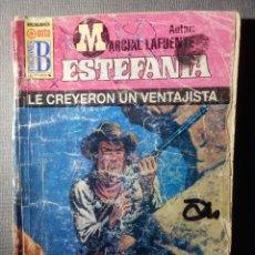 Cómics: NOVELA - MANUEL LAFUENTE M. L. ESTEFANÍA - LE CREYERON UN VENTAJISTA - HEROES DEL OESTE - ED.B 1999. Lote 148689026