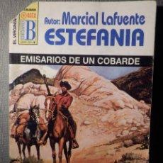 Cómics: NOVELA - MANUEL LAFUENTE M. L. ESTEFANÍA - EMISARIOS DE UN COBARDE EL VIRGINIANO -EDICIONES B - 1999. Lote 148692122