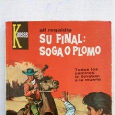 Comics: KANSAS OESTE Nº 243 - 1963 COMO NUEVA - ALF REGALDIE - BÁRBARA EDEN FOTO - MASCARÓ ILUSTRA. Lote 149259870