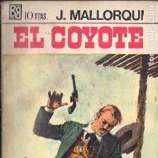 Cómics: EL COYOTE Nº 15 EDITORIAL BRUGUERA, PORTADA BERNAL. Lote 149283590