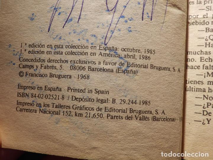 Cómics: NOVELA - MANUEL LAFUENTE M. L. ESTEFANÍA Cosecha Sangrienta - Calibre 44 - Bruguera - 1986 - Foto 2 - 150850510