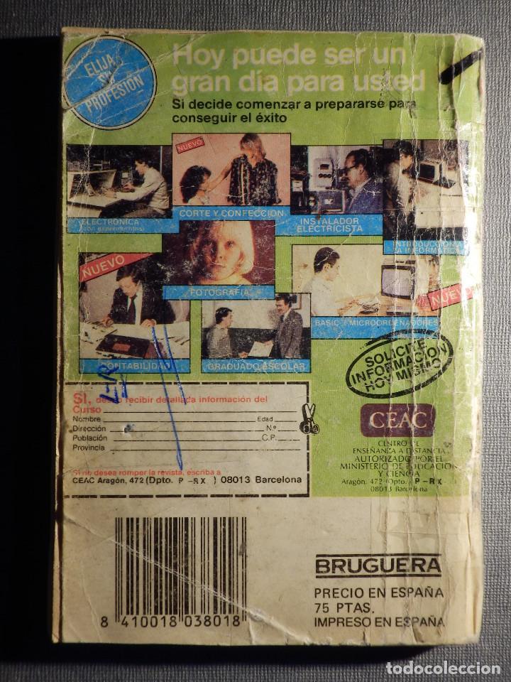 Cómics: NOVELA - MANUEL LAFUENTE M. L. ESTEFANÍA Cosecha Sangrienta - Calibre 44 - Bruguera - 1986 - Foto 3 - 150850510
