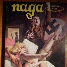 Cómics: COMIC ITALIANO - NAGA - IL VIZIO SEGRETO DI ADOLFO H. - AÑO II Nº 11 EDIZIONE DEL VASCELLO 1976. Lote 151175038