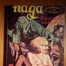 Cómics: COMIC ITALIANO - NAGA - LA VACCA SVIZZERA - AÑO II Nº 12 EDIZIONE DEL VASCELLO 1976. Lote 151175098