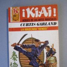 Cómics: KIAI Nº15 / LA MASCARA KENDO / CURTIS GARLAND/ BRUGUERA 1ª EDICIÓN 1977 . Lote 155299858