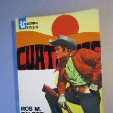 Cómics: CUATREROS Nº50 / ¡ VENGANZA / BOLSILIBROS EASA / 1ª EDICIÓN 1976. Lote 155352494