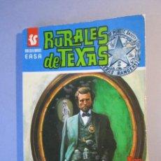 Cómics: RURALES DE TEXAS Nº52 / POR CORAZON UNA PLACA / LOU CARRIGAN/ EASA / 1ª EDICIÓN 1976. Lote 155358722