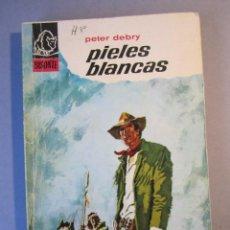 Cómics: COLECCIÓN BISONTE Nº945 / PIELES BLANCAS / PETER DEBRY/ BRUGUERA / 1ª EDICIÓN 1966. Lote 155359598