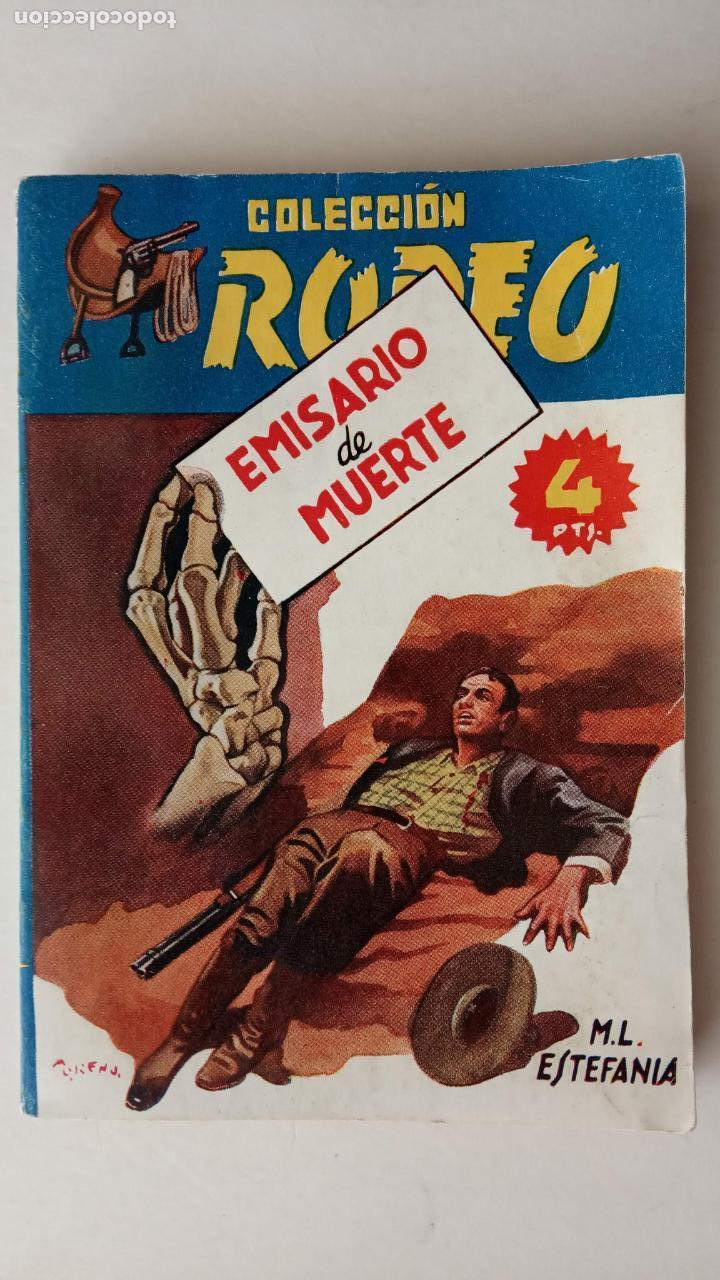 COLECCIÓN RODEO Nº 173 - MARCIAL LAFUENTE ESTEFANÍA - MUY NUEVA - EMISARIO DE MUERTE (Tebeos, Comics y Pulp - Pulp)