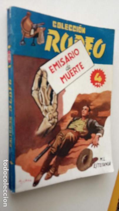 Cómics: COLECCIÓN RODEO Nº 173 - MARCIAL LAFUENTE ESTEFANÍA - MUY NUEVA - EMISARIO DE MUERTE - Foto 2 - 155419830