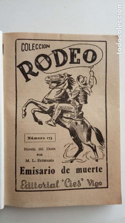 Cómics: COLECCIÓN RODEO Nº 173 - MARCIAL LAFUENTE ESTEFANÍA - MUY NUEVA - EMISARIO DE MUERTE - Foto 4 - 155419830
