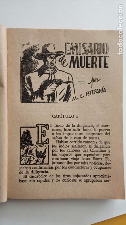 Cómics: COLECCIÓN RODEO Nº 173 - MARCIAL LAFUENTE ESTEFANÍA - MUY NUEVA - EMISARIO DE MUERTE - Foto 5 - 155419830