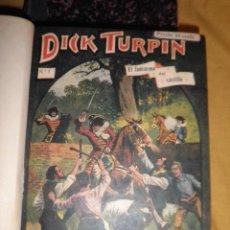 Cómics: DICK TURPIN - AÑO 1920 - EDICION COMPLETA 58 NUMEROS - ILUSTRADOS.. Lote 155656954