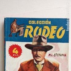 Cómics: COLECCION RODEO Nº 185 - EDI. CÍES - MARCIAL LAFUENTE ESTEFANÍA - COMO NUEVA - JUGADORES DE POKER. Lote 155699966