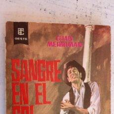 Cómics: BEST SELLERS DEL OESTE Nº 144 - CHAD MERRIMAN - SANGRE EN EL SOL - 1963 EDI. TORAY. Lote 155991170
