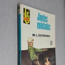 Cómics: JINETES ENLUTADOS / MARCIAL LAFUENTE ESTEFANÍA / COLORADO Nº 592 / BRUGUERA 1ª ED.. Lote 156087278