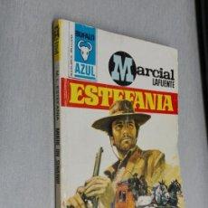 Cómics: MUERE UN SENADOR / MARCIAL LAFUENTE ESTEFANÍA / BÚFALO AZUL Nº 92 / BRUGUERA 1ª ED.. Lote 156093582
