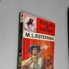 Cómics: EL EQUIPO DE LOS PECK / MARCIAL LAFUENTE ESTEFANÍA / SERIE CENTAURO Nº 1 / BRUGUERA 2ª ED.. Lote 156100586