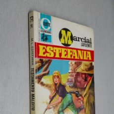 Cómics: TESTAMENTO MALDITO / MARCIAL LAFUENTE ESTEFANÍA / OESTE LEGENDARIO Nº 241 / BRUGUERA 1ª ED.. Lote 156104414