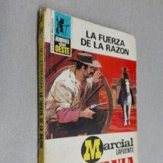 Cómics: LA FUERZA DE LA RAZÓN / MARCIAL LAFUENTE ESTEFANÍA / HOMBRES DEL OESTE Nº 54 / BRUGUERA 2ª ED.. Lote 156106422