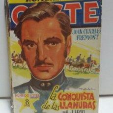 Cómics: HOMBRES DEL OESTE N 32 LA CONQUISTA DE LAS LLANURAS POR J .LEÓN. Lote 156567894