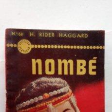 Cómics: HENRI RIDER HAGGARD - NOMBÉ - ALLAN QUATERMAIN - 1952 ACME AGENCY. Lote 156916654