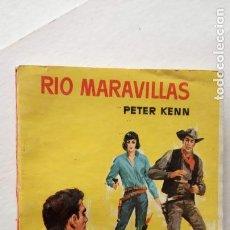 Cómics: COLECCION VAQUERO Nº 276 - PETER KENN - RÍO MARAVILLAS - 1962 BRUGUERA. Lote 156917478