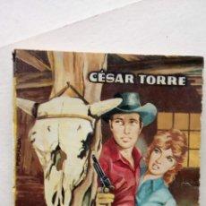 Cómics: ARIZONA OESTE Nº 227 - CÉSAR TORRE - SENDAS DE TRAICIÓN - PORTADA DE PERALTA - 1962 TORAY6. Lote 156917842