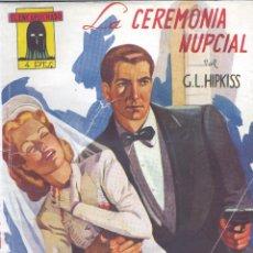 Cómics: EL ENCAPUCHADO Nº23. AUTOR: GUILLERMO LÓPEZ HIPKISS. CLIPER, 1947. NOVELA POPULAR. Lote 158318382