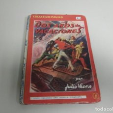 Cómics: J10- DOS AÑOS DE VACACIONES POR JULIO VERNE EDIT MOLINO 1941 132 PAG. Lote 158413442