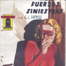 Cómics: EL ENCAPUCHADO Nº14. AUTOR: GUILLERMO LÓPEZ HIPKISS. CLIPER, 1947. NOVELA POPULAR. Lote 159290402