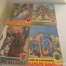 Cómics: SANCHO SALDAÑA COMPLETA JOSE DE ESPRONCEDA. Lote 159344966