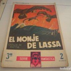 Cómics: EL MONJE DE LASSA CARLOS MATTIA. Lote 159768242