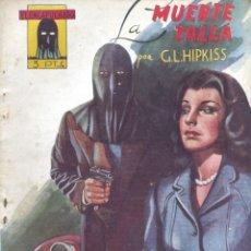 Cómics: EL ENCAPUCHADO Nº12. AUTOR: GUILLERMO LÓPEZ HIPKISS. CLIPER, 1947. NOVELA POPULAR. Lote 160036490