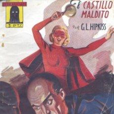 Cómics: EL ENCAPUCHADO Nº17. AUTOR: GUILLERMO LÓPEZ HIPKISS. CLIPER, 1947. NOVELA POPULAR. Lote 160303562