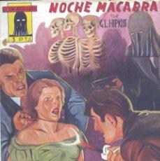 Cómics: EL ENCAPUCHADO Nº16. AUTOR: GUILLERMO LÓPEZ HIPKISS. CLIPER, 1947. NOVELA POPULAR. Lote 160666458