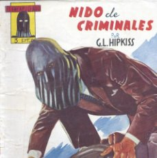 Cómics: EL ENCAPUCHADO Nº6. AUTOR: GUILLERMO LÓPEZ HIPKISS. CLIPER, 1947. NOVELA POPULAR. Lote 160666754