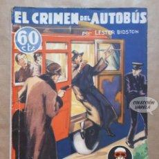 Fumetti: EL CRIMEN DEL AUTOBÚS - LA NOVELA AVENTURA - Nº 81 - AÑO III 1935 - SEXTON BLAKE. Lote 161807506