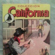 Fumetti: COLECCIÓN CALIFORNIA N.º 268 - MARCIAL LAFUENTE ESTEFANÍA - LEYES DE PLOMO (BRUGUERA, 1961). Lote 164832922