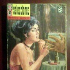 Cómics: SILVER KANE - LA NOCHE TIENE UN SECRETO - SERVICIO SECRETO N.º 98 (1962, 2.ª ED.). Lote 164960682